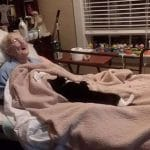 Loyal Cat Refuses To Leave Bedside Of Dying Woman Who Raised Her