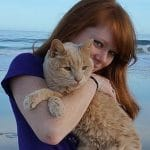 Woman Adopts Sad 21 Year Old Cat To Give Him Best Remaining Days He Could Have!