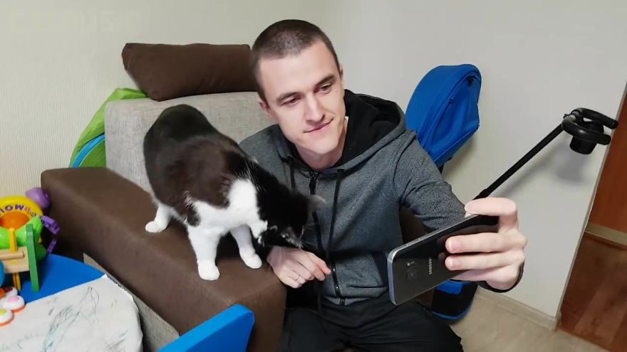 Cat Selfie Device 2